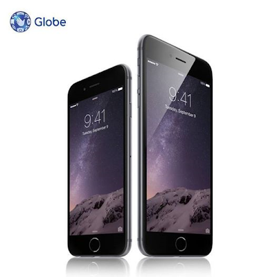 Globe iPhone 6 and iPhone 6 Plus