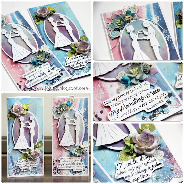 Kartki i pudełka na ślub