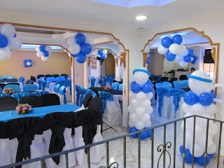 decoracion con globos angeles
