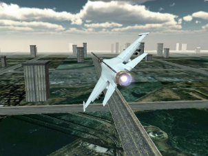 Jet Plane Fighter City 3D