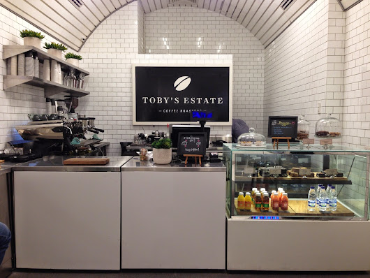 Toby's Estate Coffee Roasters, Manila