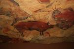 Pinturas rupestres en la cueva de Altamira