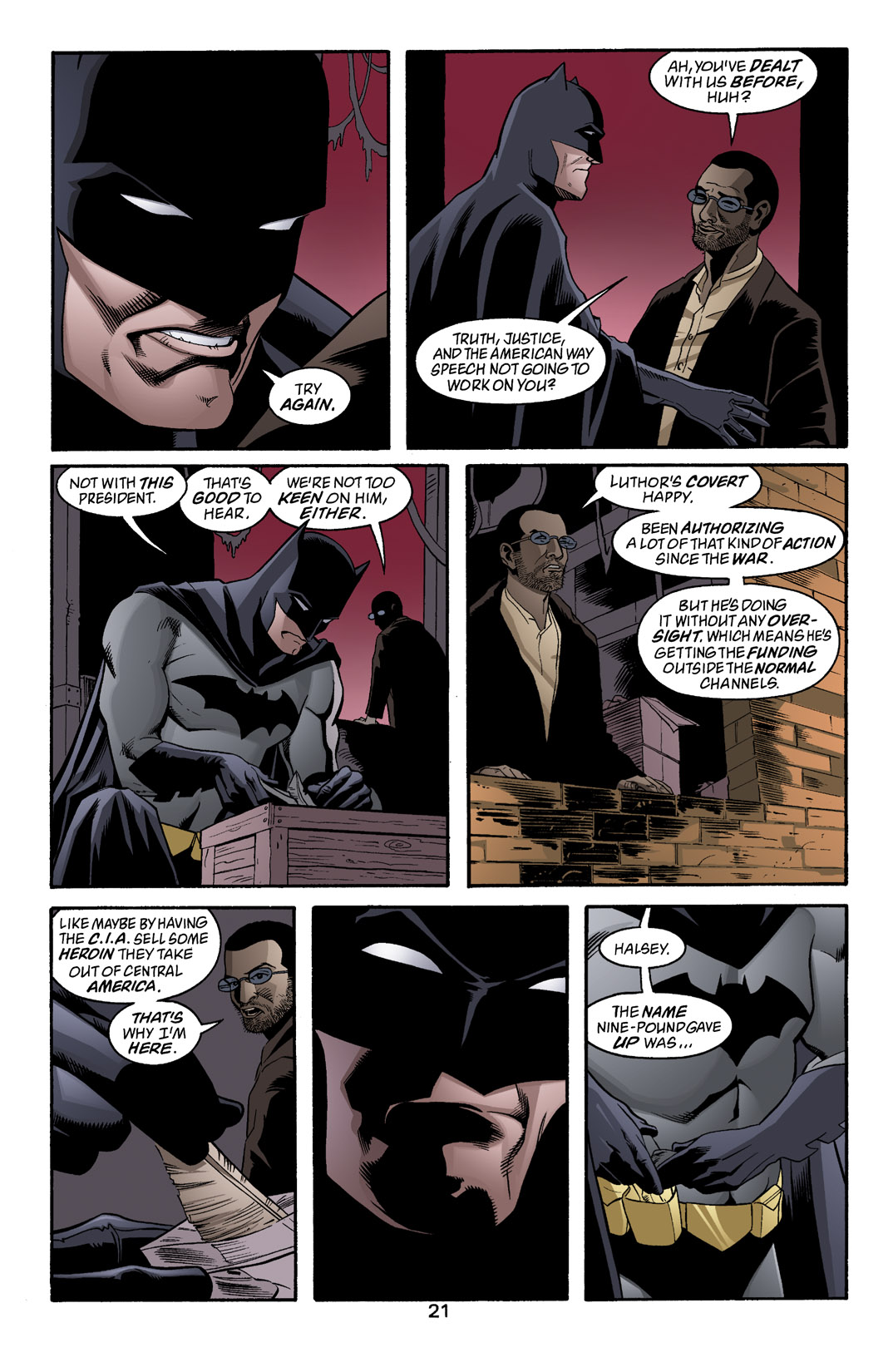 Detective Comics (1937) 770 Page 21