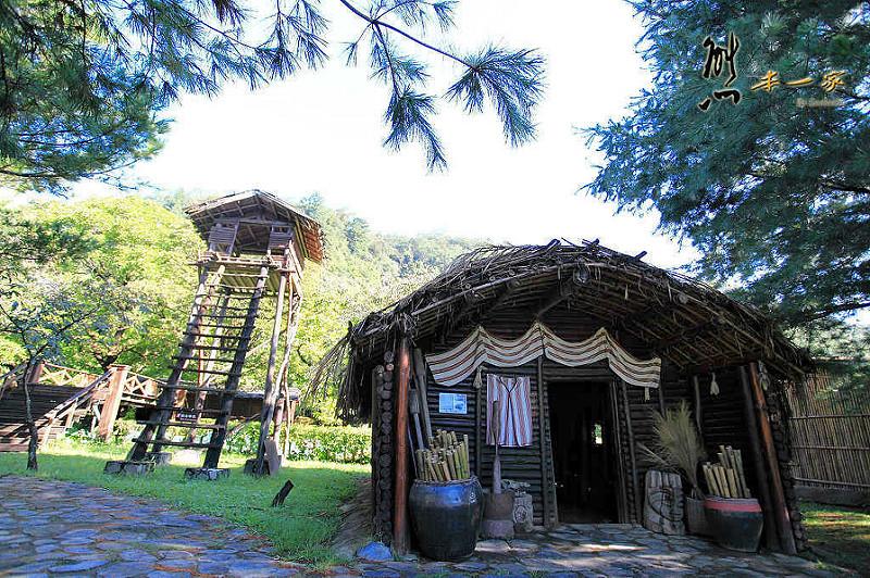 台灣島原住民部落屋-蓮花池|泰雅渡假村花卉部落建築