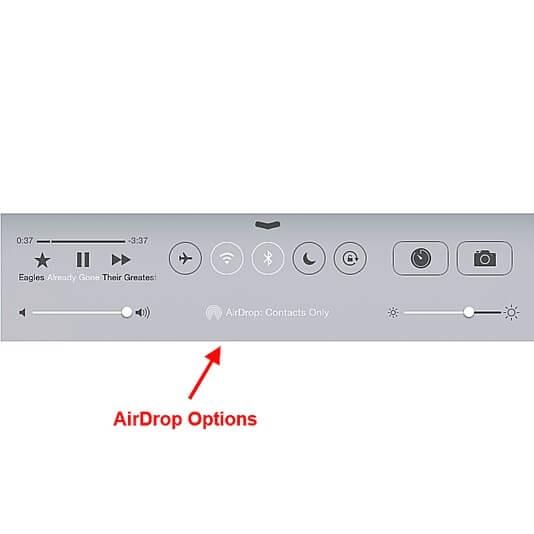 Mengaktifkan AirDrop di Control Panel