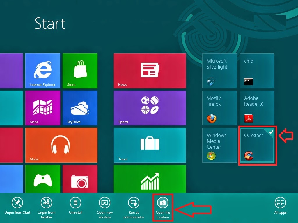 Learn New Things: Windows 8: Create Desktop Shortcut for ...