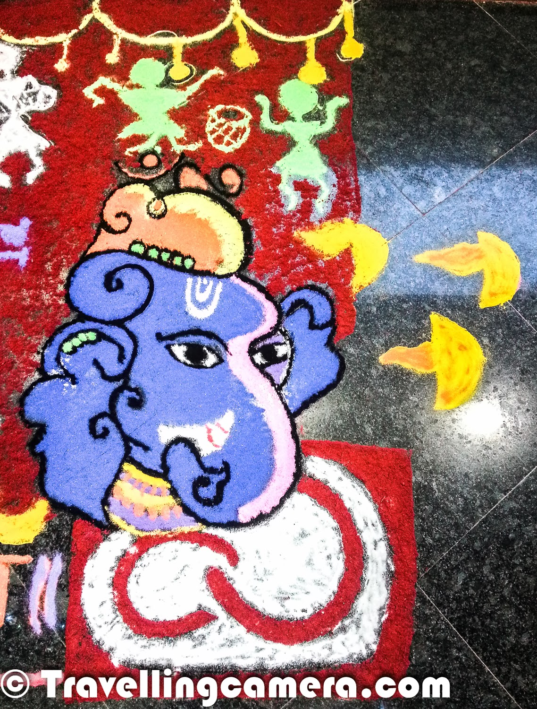 Diwali Rangoli Art At Adobe Mobilegiri At 39 Diwali