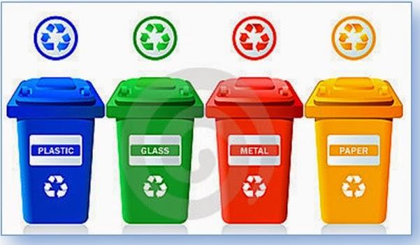 Colores de reciclaje de basura - Colores para reciclar ...