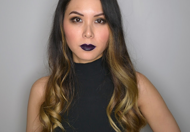 NYX Liquid Suede Cream Lipstick in Oh Put It On Makeup Look