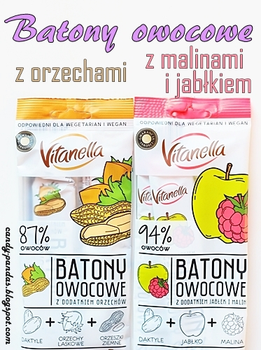 Batony owocowe – Vitanella (Biedronka)