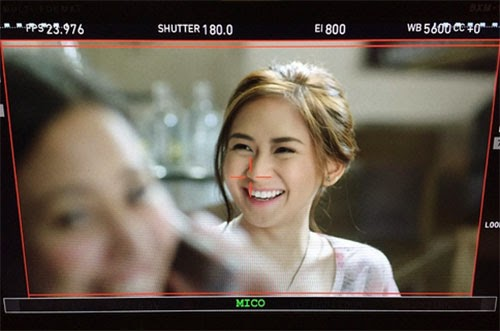 Why Sarah Geronimo can't finish the scene with Piolo Pascual?