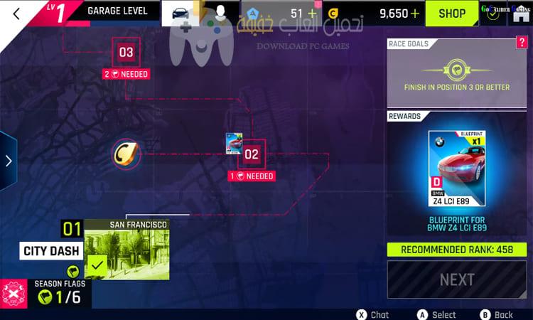 تحميل لعبة Asphalt 9 للكمبيوتر