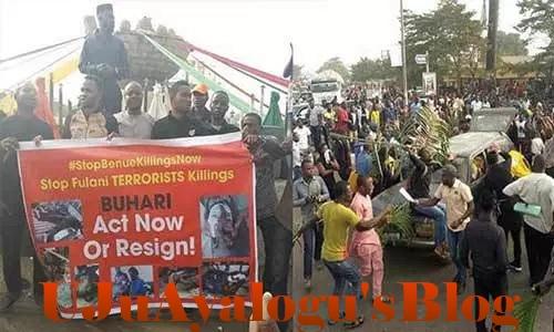 Violent protest rocks Makurdi, Atiku, Mark, others condemn killings