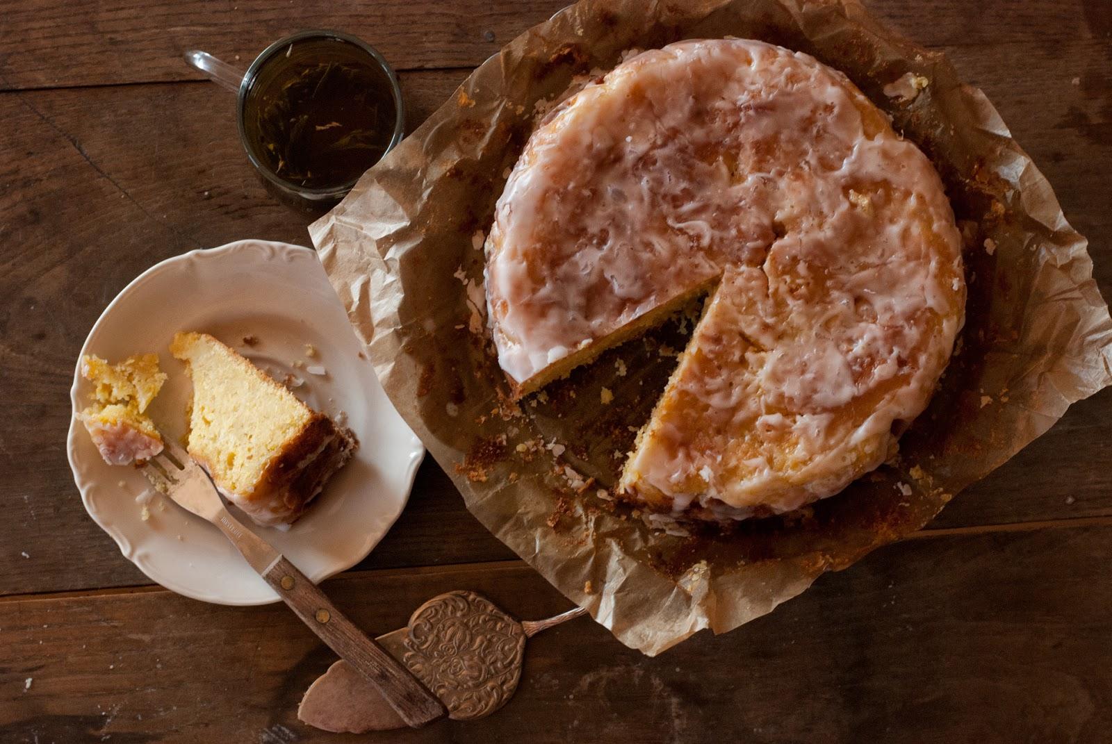 Ciasto cytrynowe bez glutenu z cukinią