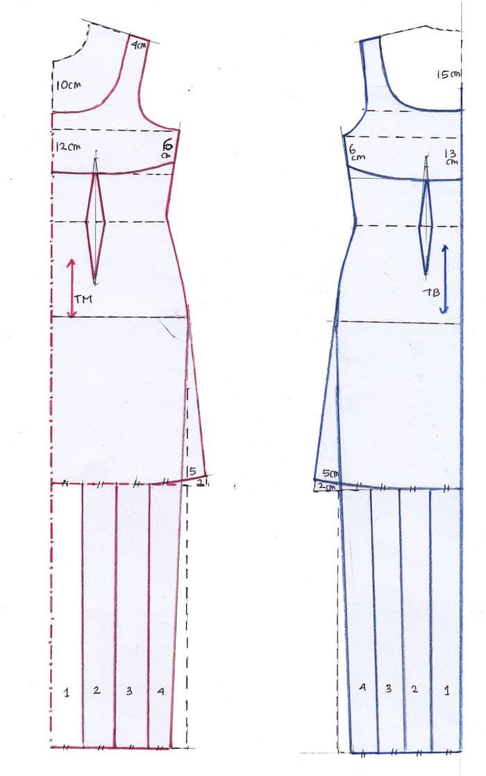 pola pakaian