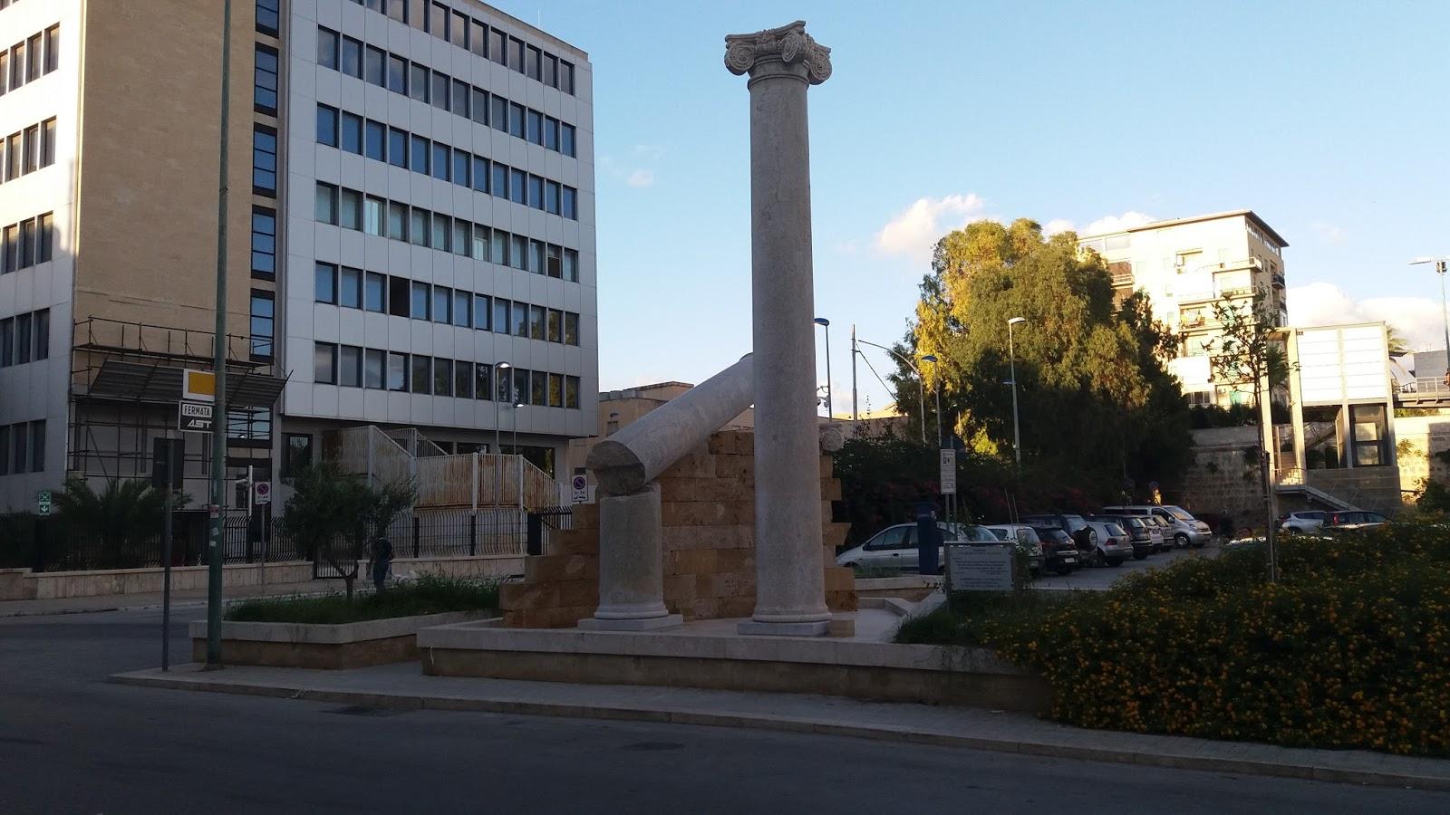 Le colonne del garibaldi trapanesedentro for Aggiornare le colonne del portico