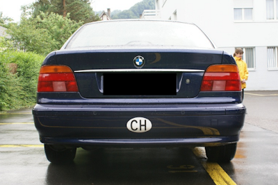 Eksterior BMW E39 Prefacelift
