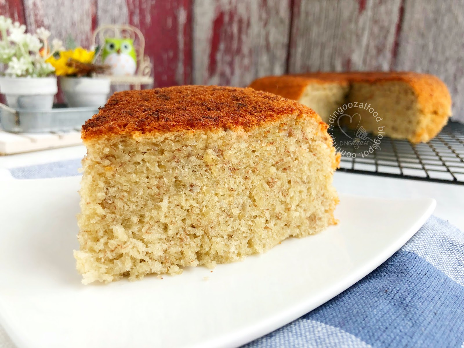 This Is My All Time Favorite Banana Cake Recipe, Made Completely