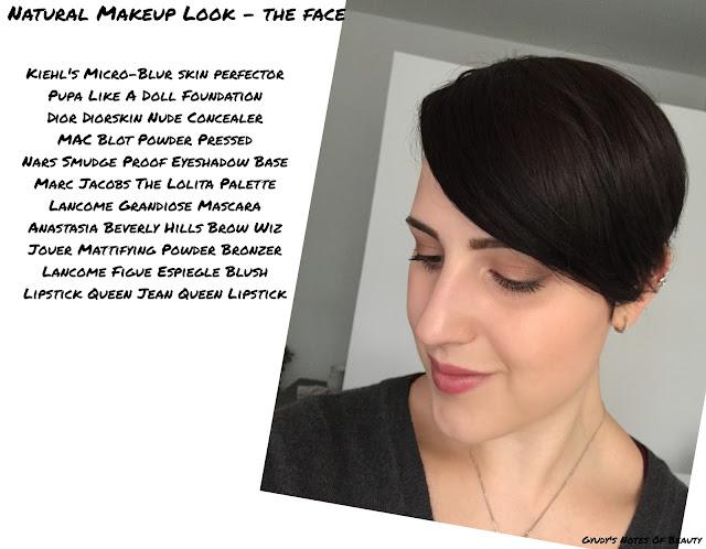 FOTD Pupa Kiehl's Like A Doll MAC Dior Lancome Anastasia Jouer Lipstick Queen NARS