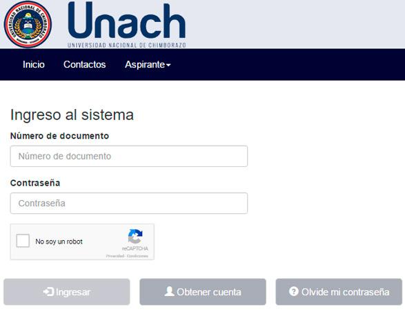 Resultados de Postulación UNACH Chimborazo Asignación de Cupos SNNA