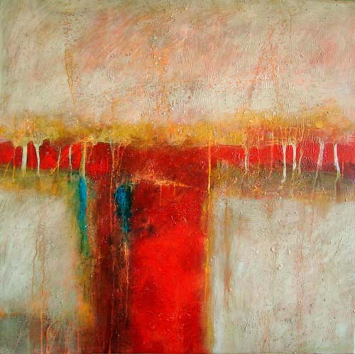 Filomena de andrade booth surrender original abstract for Contemporary mural