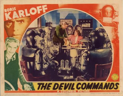 the devil commands lobby card