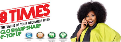 Glo E-Top Up Now Gives You 8x Bonus For Data and All Net Calls