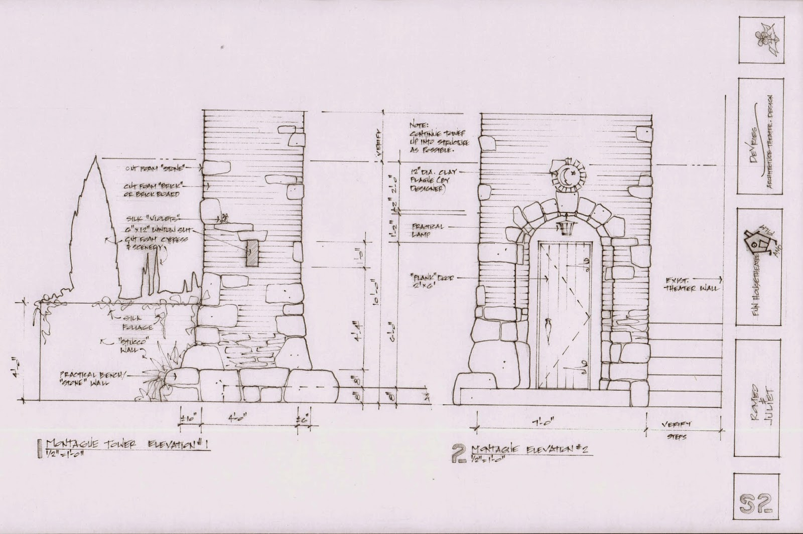 Design Diary: R & J Construction Drawings