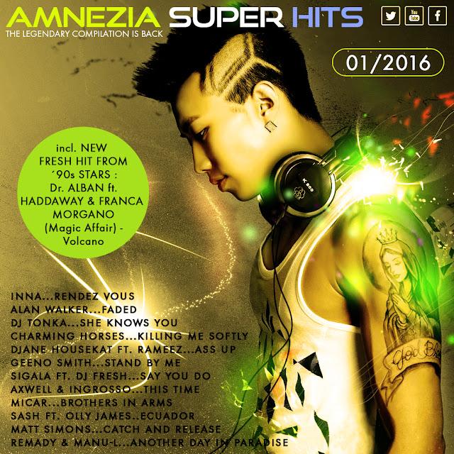 Download [Mp3]-[Hot Album] Pop Dance มันส์ๆ ใครเป็นวัยรุ่นเอาไปฟังจร้า Amnezia Super Hits 01-2016 CBR@320Kbps 4shared By Pleng-mun.com
