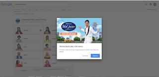 vote online indonesian idol junior 2018