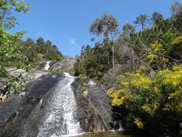 Tobogán río San Xoán y río Pedras en A Pobra