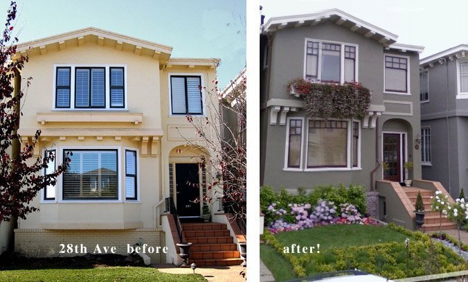 Exellent Stucco Exterior Paint Ideas Bungalow Design