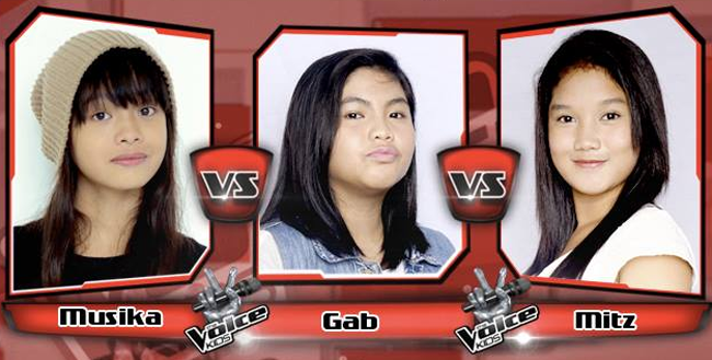 Gab Won Over Musika and Mitz on The Sing-offs for The Voice Kids Philippines