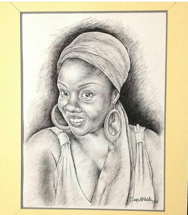 This pencil art works were drawn by a nigerian artist named sheyi alabi