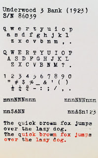typeface-sample-Underwood-3-bank-typewriter