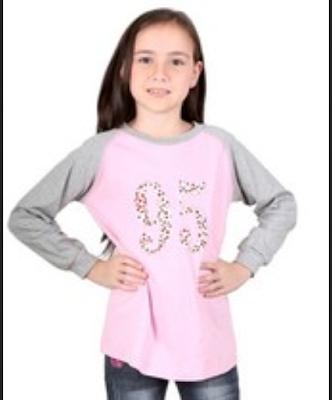 desain baju casual untuk anak perempuan