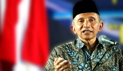 Jokowi Minta Politik dan Agama Dipisahkan, Amien Rais: Itu Kata-kata Orang yang tidak Paham Pancasila