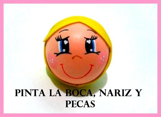 6a8481ba31c CÓMO PINTAR UNA CARITA PARA UNA MUÑECA FOFUCHA  MANUALIDADES FÁCILES ...