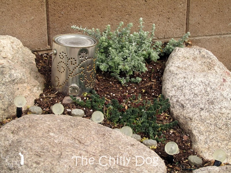 Fairy Garden: Create a fairy house with a re-purposed paint can