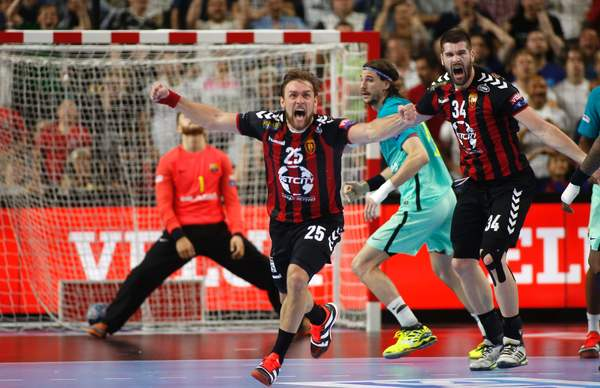 Cindric festeja el gol decisivo / AFP