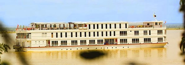 The Orcella RV on the Irrawaddy