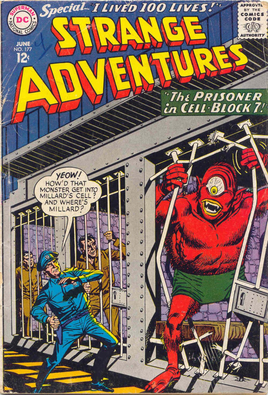 Strange Adventures (1950) issue 177 - Page 1