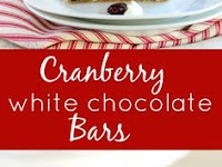 Cranberry White Chocolate Bars (Copycat Starbucks Cranberry Bliss Bars)