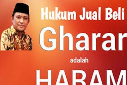 Maksud Al-Gharar dalam Ekonomi Islam