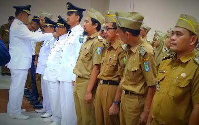 Wabup Pringsewu Lantik Puluhan Pejabat Administrator dan Pejabat Pengawas