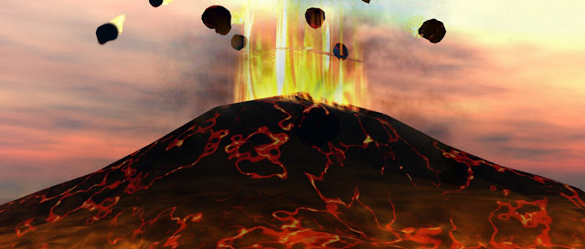 Lava y volcanes