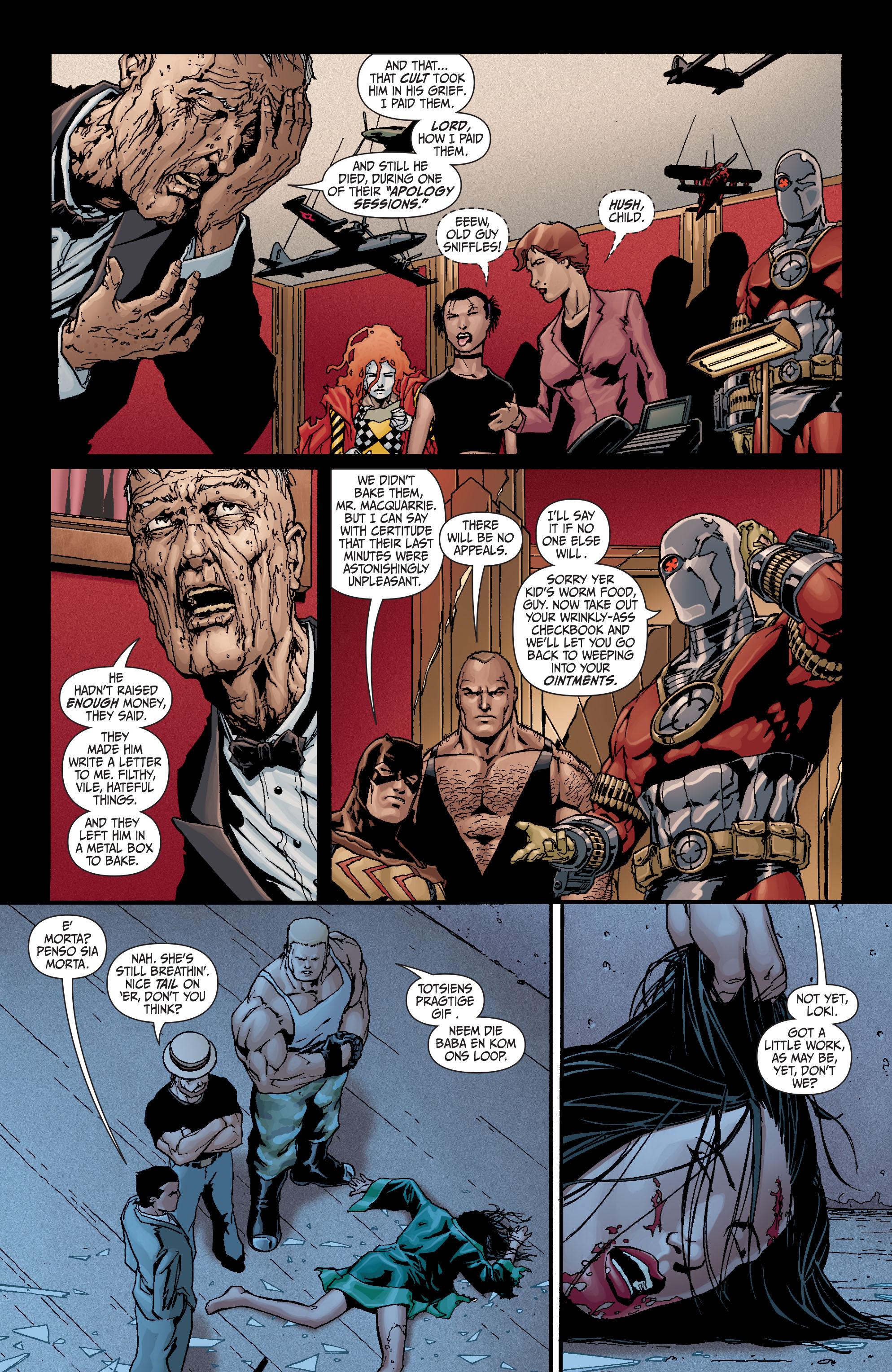 Read online Secret Six (2008) comic -  Issue #19 - 20