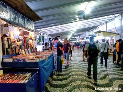 Beco dos Livros na Feira do Livro de Porto Alegre 2015