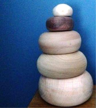 Cara Membuat Rumah lampu dari Kayu Model Batu Bersusun