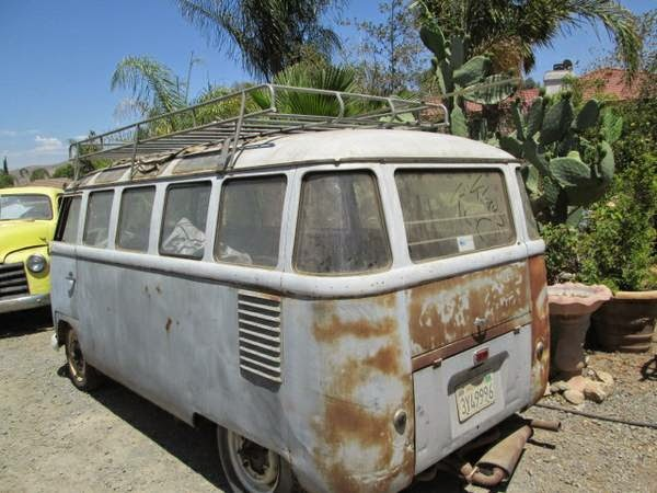 Two 23 Window Buses for Sale   vw bus wagon